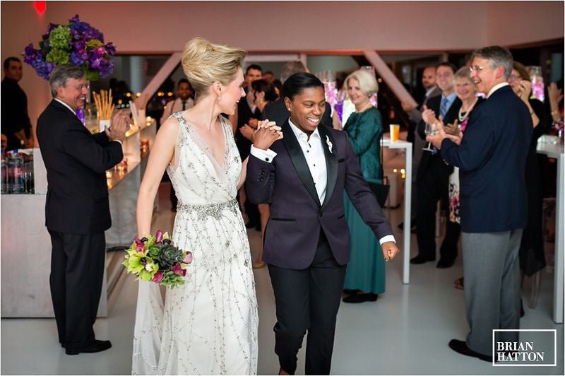 Wedding Floral Designer New Museum Wedding Anissa Rae Flowers