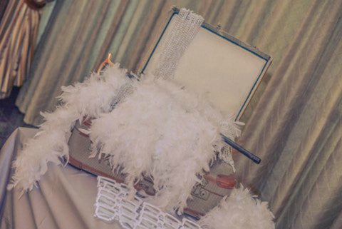 Photo booth props for Gatsby Inspired Wedding