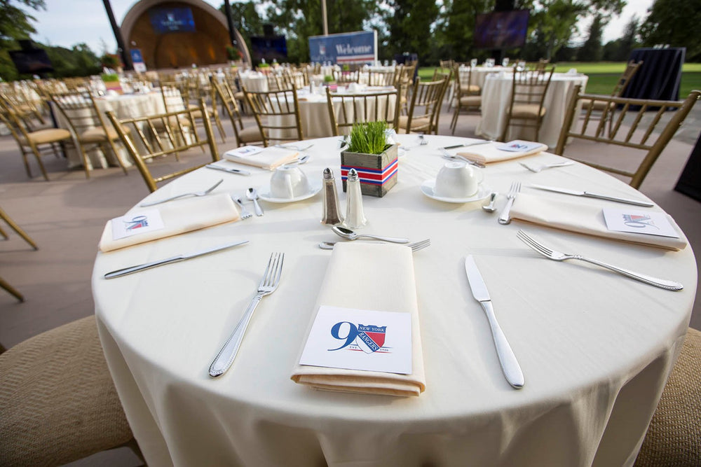 Anissa Rae Flowers Custom Designed NY Rangers Golf Outing Flowers
