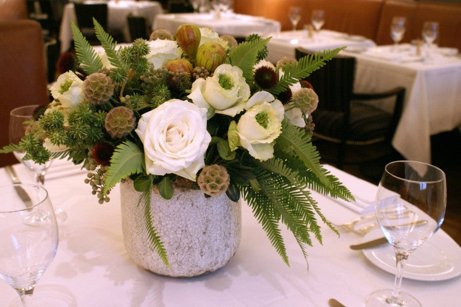 Custom Event Flowers and Ferns by Anissa Rae Flowers NYC Top Florist