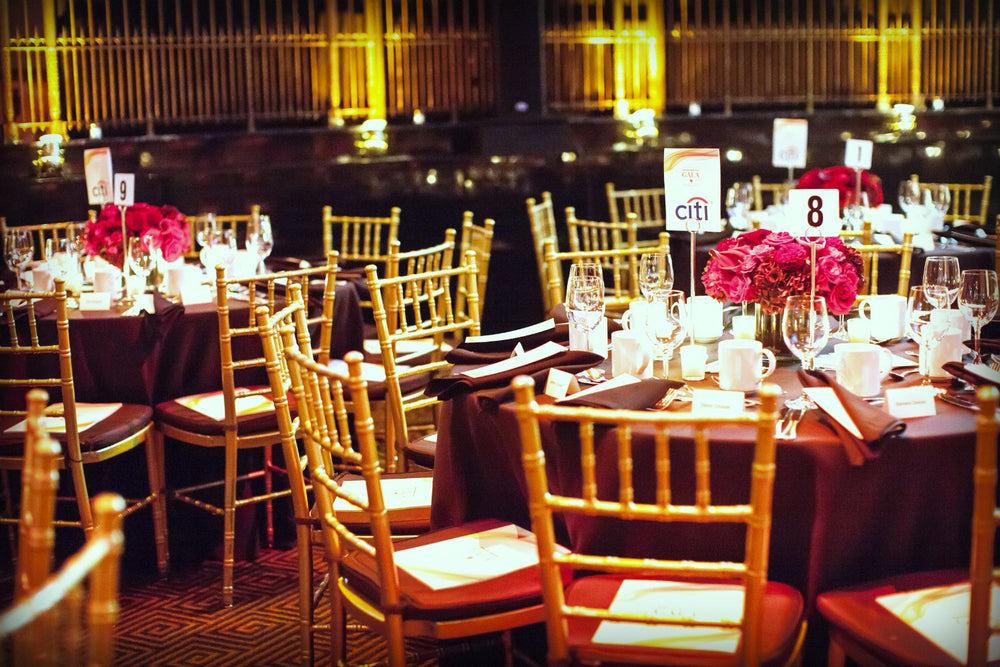 Gotham Hall Event Florist Red Cross Gala by Anissa Rae Flowers NYC