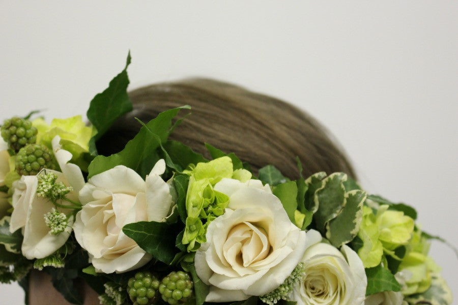 Best Custom Flower Crowns by NYC Florist Anissa Rae Flowers