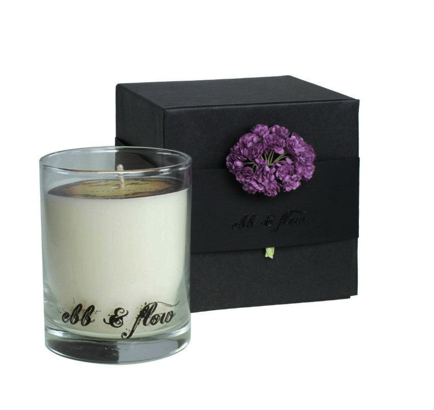 Ebb & Flow NY Dark Ginger Lavender Candle