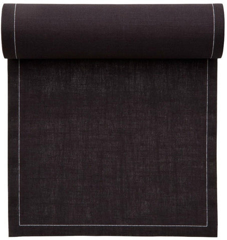 MYdrap dark grey dinner napkin roll