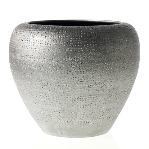 Large Indoor Graphite Ceramic Planter to Buy in NYC