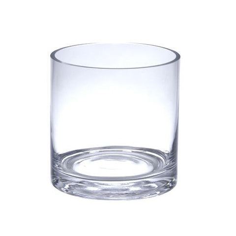 cheap clear glass vase for flower centerpieces and succulent gardens