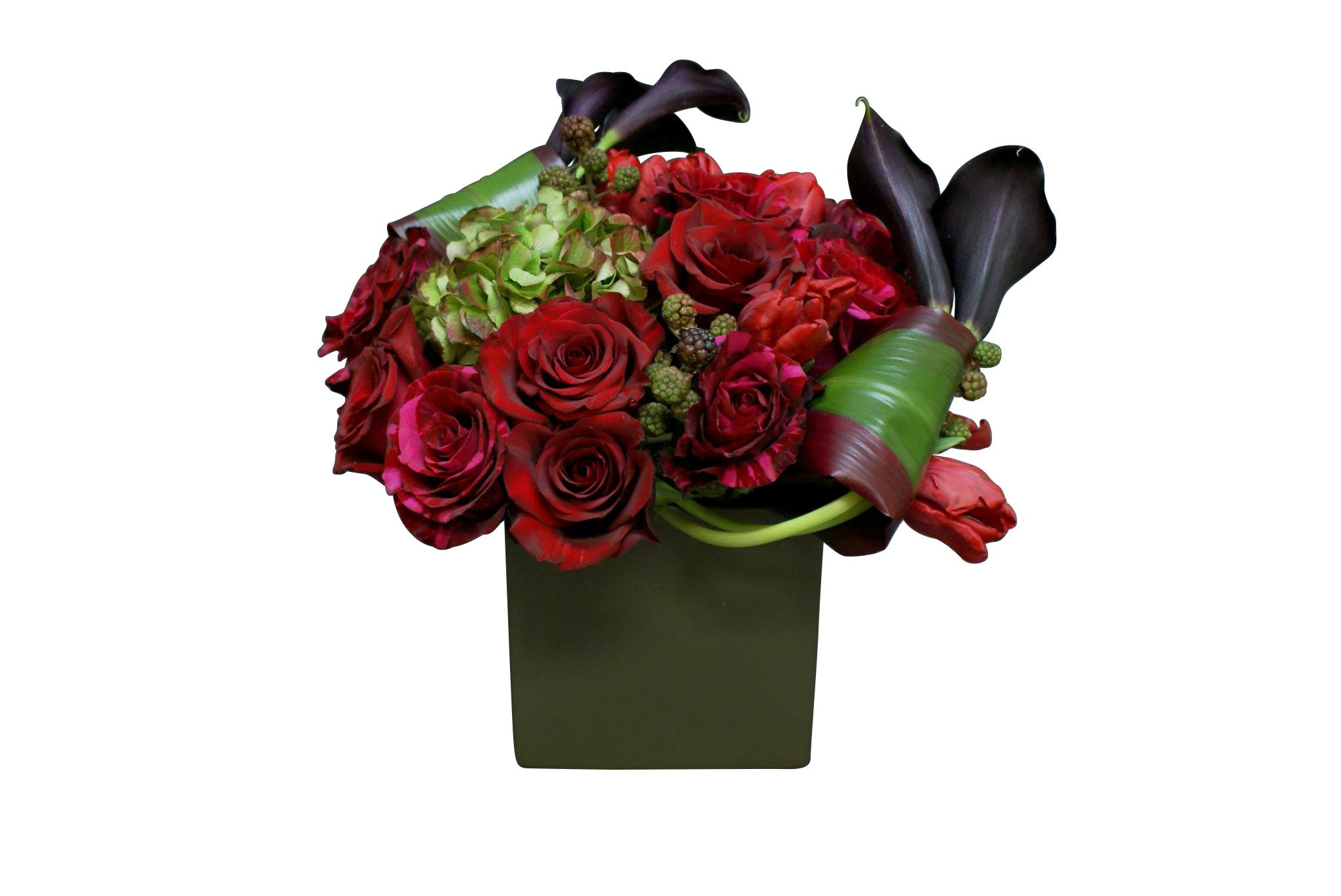 Stylish Red Valentine Flower Anissa Rae Flowers Ny Office