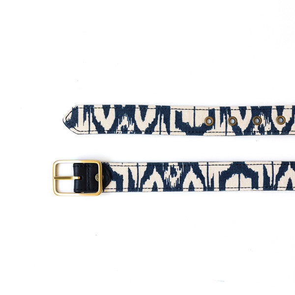 Reversible Ikat Belt