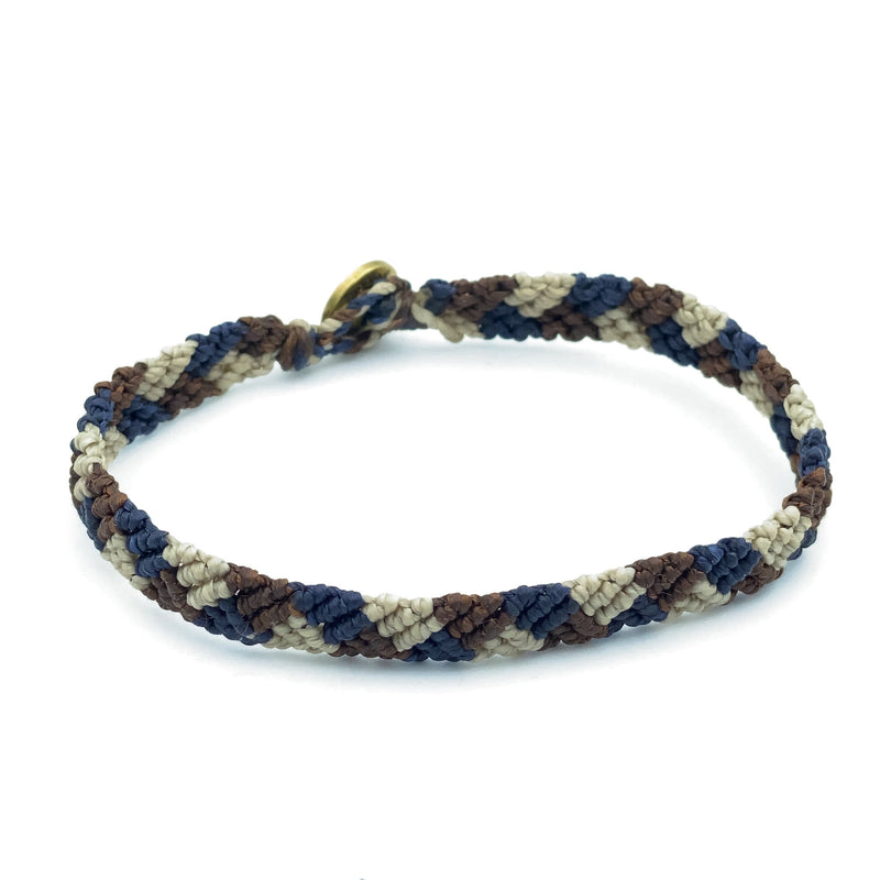 Hand-knotted Triangle Bracelet