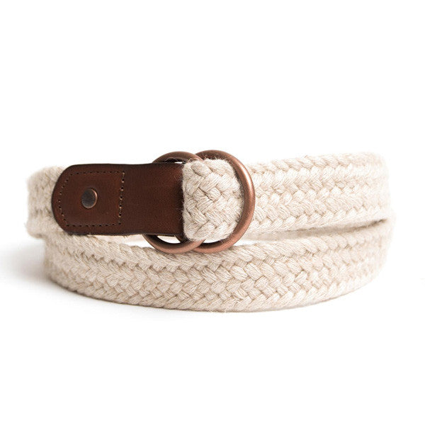 Cotton/Linen Braid Belt