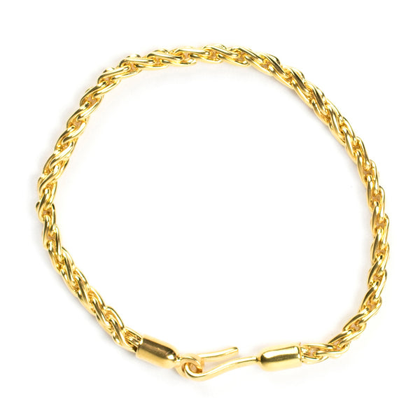 Chunky Gold Chain Rope Bracelet