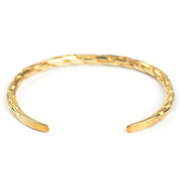 Gold Braided Cuff