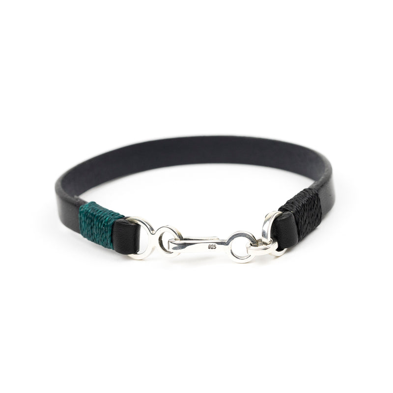 Wide Easy Leather Bracelet