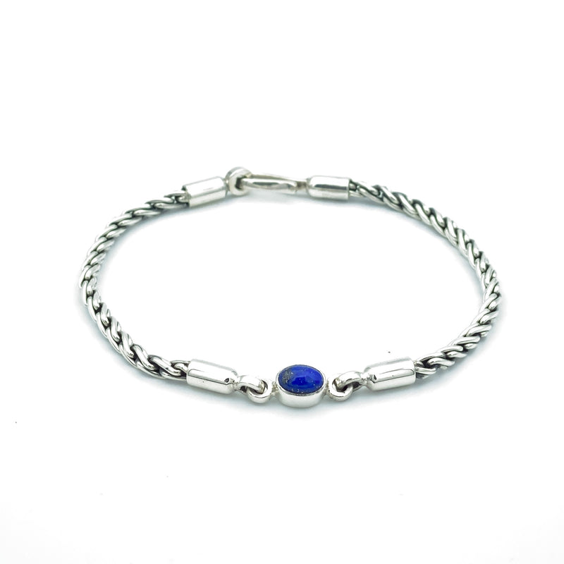 Gemstone Rope Chain Bracelet