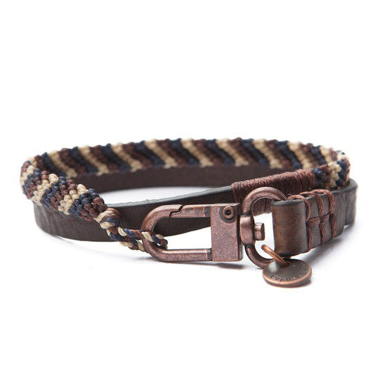 Hand-knotted Double Wrap Bracelet
