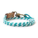 Hand Braided Double Wrap Bracelet