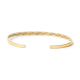 Brass Braided Cuff