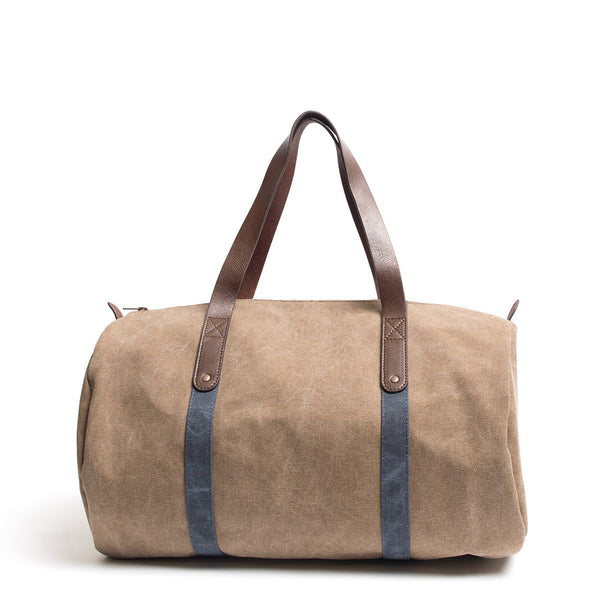 Canvas and Leather Duffle
