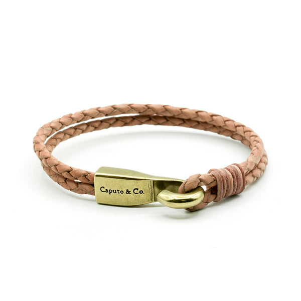 Big Hook Leather Bracelet