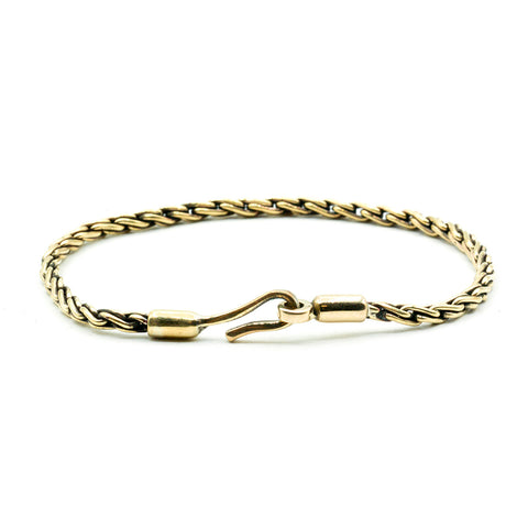 Brass Chain Rope Bracelet