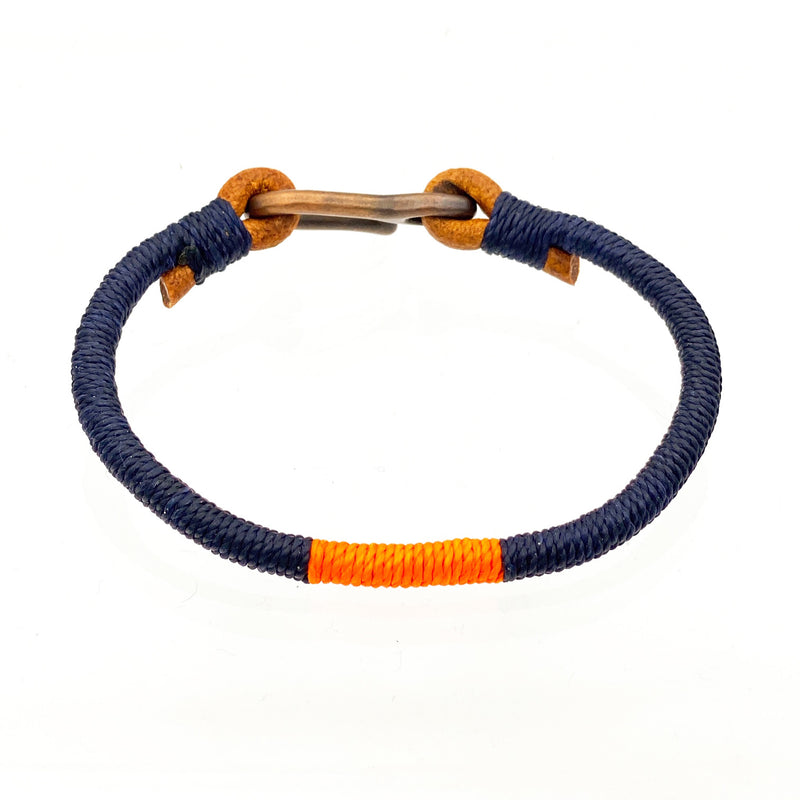 Hand-wrapped Leather Bracelet