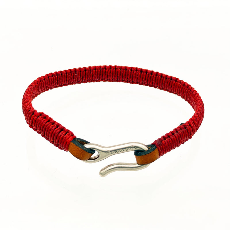 Hand-knotted Leather Bracelet