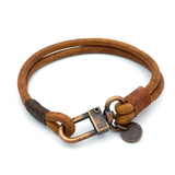 Chunky Craftman Leather Bracelet