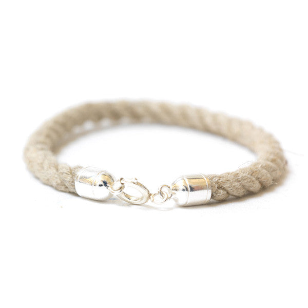 Nautical Rope Jute Bracelet