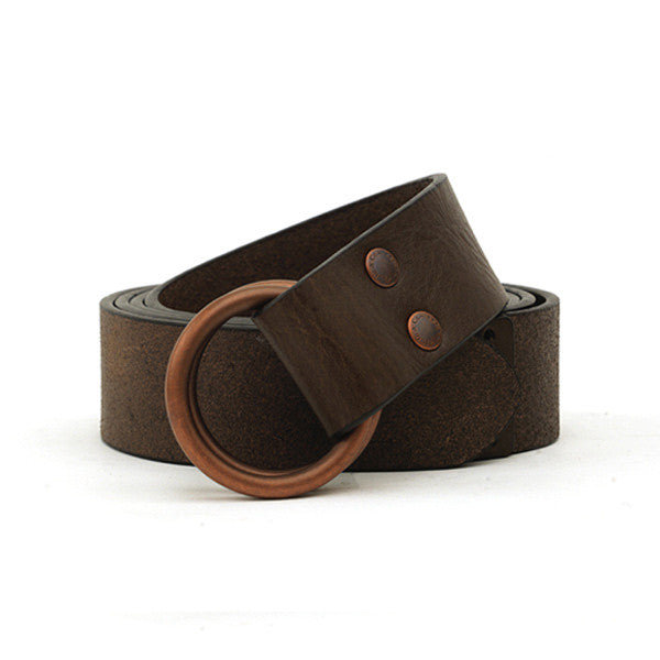 O-ring Leather Belt