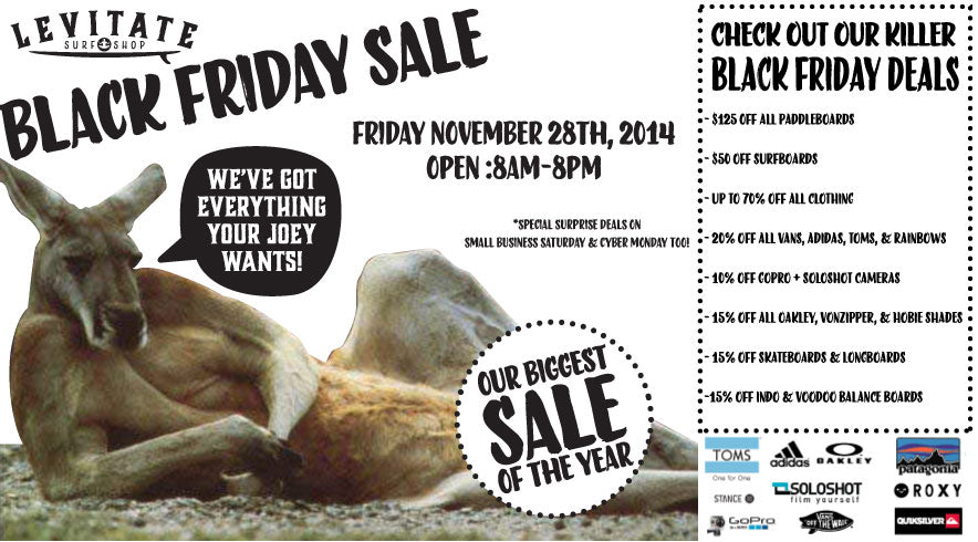 79e9c909279 BLACK FRIDAY  Our Biggest Sale of the Year - Levitate