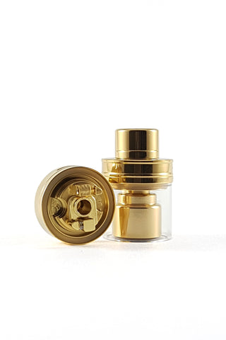 Gold Plated Serpent Mini RTA by WOTOFO