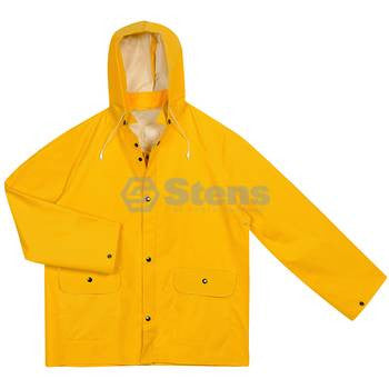 3 Piece Rainsuit,Detach Hood,Yellow,L / Large Yellow Part No: 047-004 - YARMAND