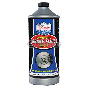 051-524 Lucas Oil Brake Fluid (Dot 3) - YARMAND