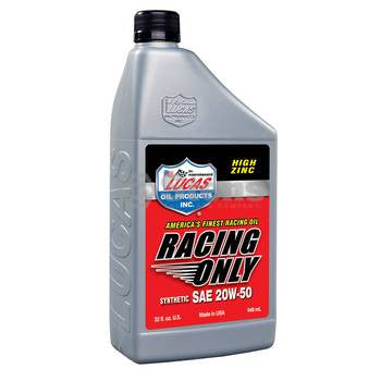 051-728 Lucas Oil High Performance Racing Only Synthetic Oil - YARMAND