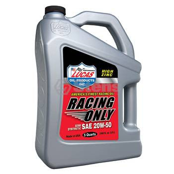 051-734 Lucas Oil High Performance Racing Only Semi-Synthetic Oil - YARMAND