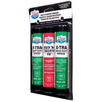 051-743 Lucas Oil Grease 3 Pack - YARMAND