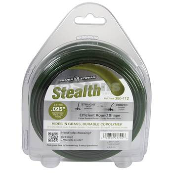 380-112 Silver Streak Stealth Trimmer Line - YARMAND