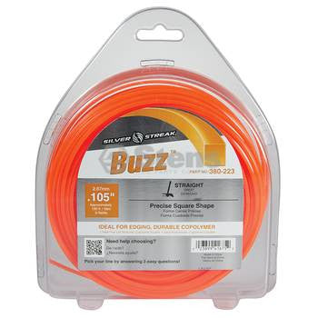 380-223 Silver Streak Buzz Trimmer Line - YARMAND