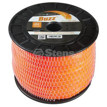 380-243 Silver Streak Buzz Trimmer Line - YARMAND