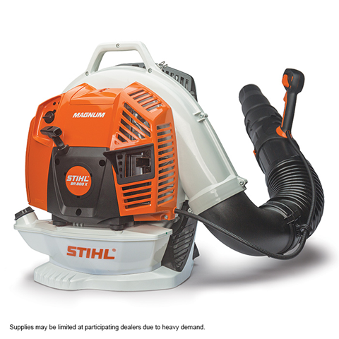 BR 800 X The most powerful professional blower available in the STIHL range.