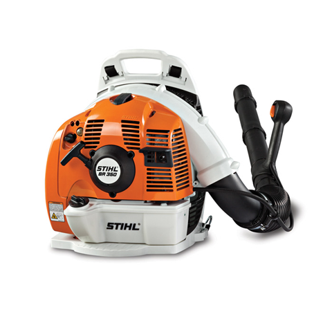 BR 350 A fuel-efficient backpack Stihl blower that delivers professional-grade performance.
