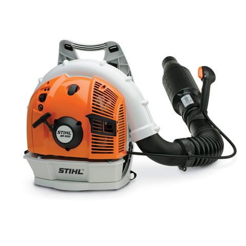 BR 500 - A quiet, yet powerful backpack Stihl blower for professionals working in noise-sensitive areas.