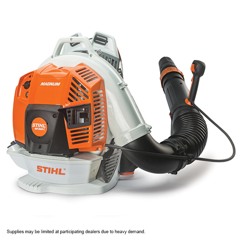 BR 800 C-E Biggest, baddest and most powerful STIHL backpack blower.