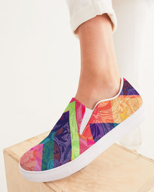 Dreamscape | Mirage Women's Slip-On Canvas Shoe - Katrynthia Law