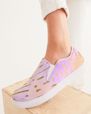Ethereal | Pastel Dream Women's Slip-On Canvas Shoe - Katrynthia Law