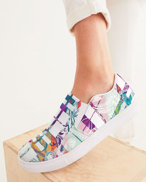 Dreamscape | Heavenly Picnic Women's Slip-On Canvas Shoe - Katrynthia Law