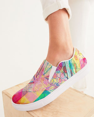 Dreamscape | Endless Love Women's Slip-On Canvas Shoe - Katrynthia Law