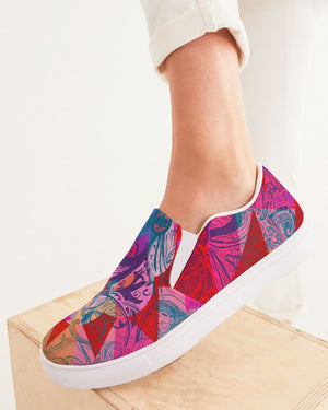 Dreamscape | Sunny Vision Women's Slip-On Canvas Shoe - Katrynthia Law