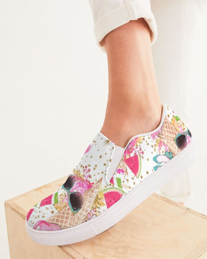 Summer | Flamincone Women's Slip-On Canvas Shoe - Katrynthia Law