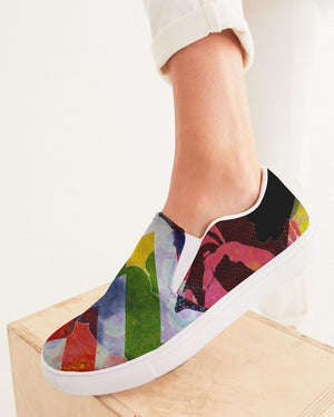 Dreamscape | Cloudy Days Women's Slip-On Canvas Shoe - Katrynthia Law